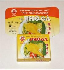 """Préparation pour soupe """"Pho Ga"""" COCK BRAND 75g"""