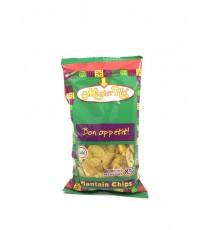 Chips banane plantain salé MISTER HO 85g