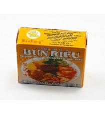 """Préparation pour soupe """"Bun Rieu"""" COCK BRAND 75g"""