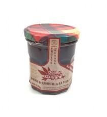 Confiture Pomme d'amour à la vanille DELICES DE GUYANE 210g