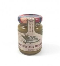 Chutney aux mangues DELICES GUYANE 100g