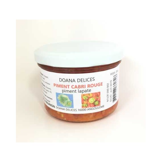 Piment Cabri rouge DOANA DELICES 200G