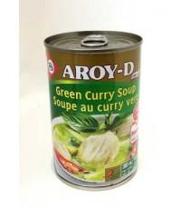 Soupe au curry vert AROY-D 388mL