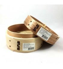 Etuve + couvercle en bambou 15CM