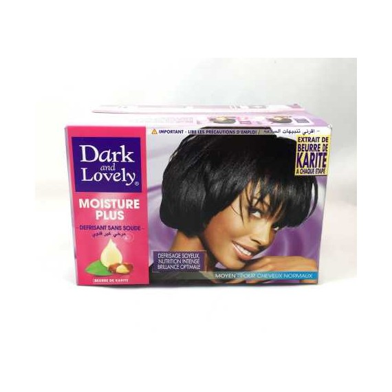 Défrisant sans soude cheveux normaux DARK AND LOVELY