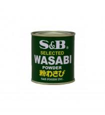 Poudre de wasabi S&B 30g