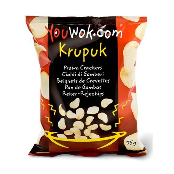 Chips aux crevettes KRUPUK YOUWOK 75g