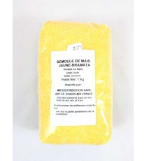 Semoule de maïs jaune bramata 1kg