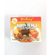 4 cubes de préparation pour soupe Bun riêu COCK BRAND 75g