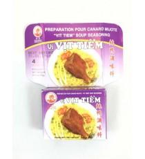 4 cubes de préparation VIT TIEM pour canard mijoté COCK BRAND 75g