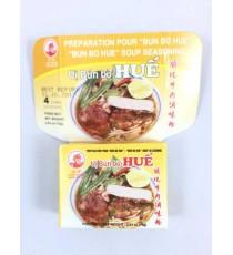4 cubes de préparation pour Bun bo hue COCK BRAND 75g
