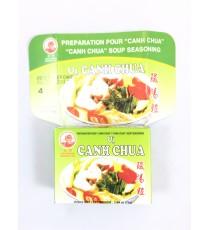 4 cubes de préparation pour soupe Canh chua COCK BRAND 75g