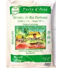 Brisure de riz parfumé cassé 2 fois Perle d'Asie RIZ DU MONDE 20kg