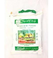 Brisure de riz parfumé cassé 2 fois Perle d'Asie RIZ DU MONDE 5kg