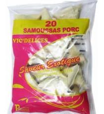 20 samoussas Porc VIC'DELICES 300g