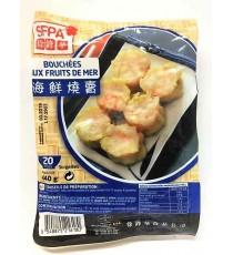20 bouchées aux fruits de mer SFPA 440g