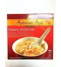 Soupe aux raviolis crevettes Chinois Wonton AUTHENTIC ASIA 630g