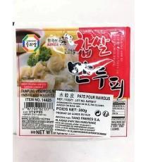 Feuilles pour raviolis japonais (Gyoza) SURASANG 280g
