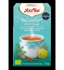 Réconfort de la gorge - 17 sachets - Yogi Tea 32.3g