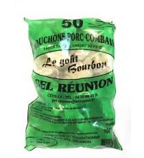 50 Bouchons porc combava GEL REUNION 1kg