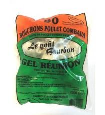 50 Bouchons poulet combava GEL REUNION 1kg
