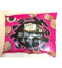 20 Bouchons porc LE TRAITEUR DE BOURBON 400g