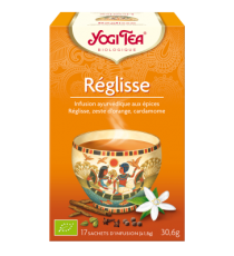 Réglisse - 17 sachets - Yogi Tea 30.6g