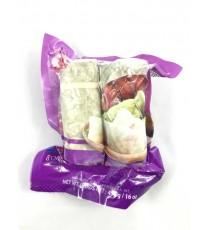 Gâteaux de riz gluant au taro (congelé) COCK BRAND 454g