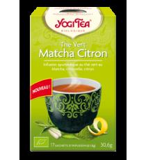Thé Vert Matcha Citron - 17 sachets -Yogi Tea 30.6g