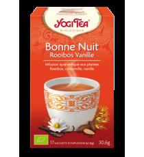 Bonne Nuit Rooibos Vanille - 17 sachets - Yogi Tea 30.6g