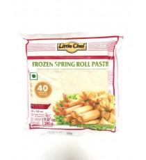 40 feuilles de blé congelées (125x125mm ) LITTLE CHEF 280g