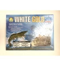 Crevettes entières crues congelées taille 6/8 WHITE GOLD 750g