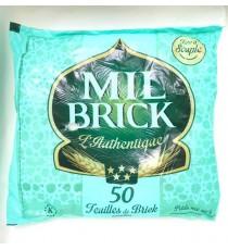 50 feuilles de brick congelées MIL BRICK 850g
