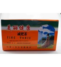 Thé oolong - aide à l'amincissement - Boite de 20 sachets de 1,8g - Fine Tonic 36g