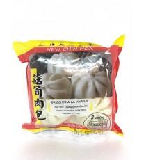Brioches à la vapeur au porc champignon bambou NEW CHIN HOA 550g