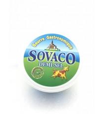 Beurre gastronomique demi- sel SOVACO 250g
