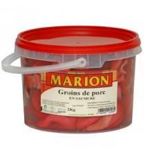 Seau de groin de porc en saumure LE COCHON CREOLE 1,5kg