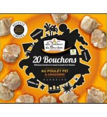 20 Bouchons poulet LE TRAITEUR DE BOURBON 400g
