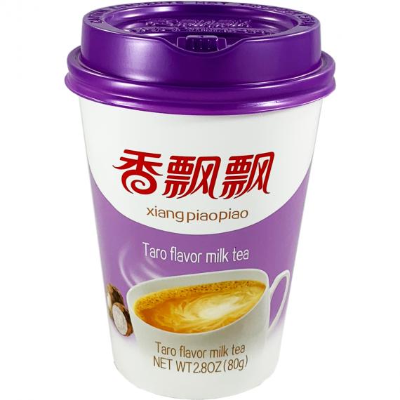 Boisson bubble tea - thé au lait saveur taro XIANG PIAOPIAO 80G