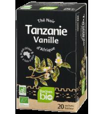 Thé noir vanille TANZANIE- 20 sachets x 1.8g - RACINES BIO 36g