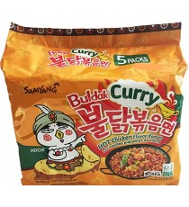 nouille samyang curry 5x140g