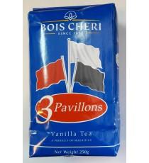 Thé noir Vanille 3 pavillons - BOIS CHERI 250g