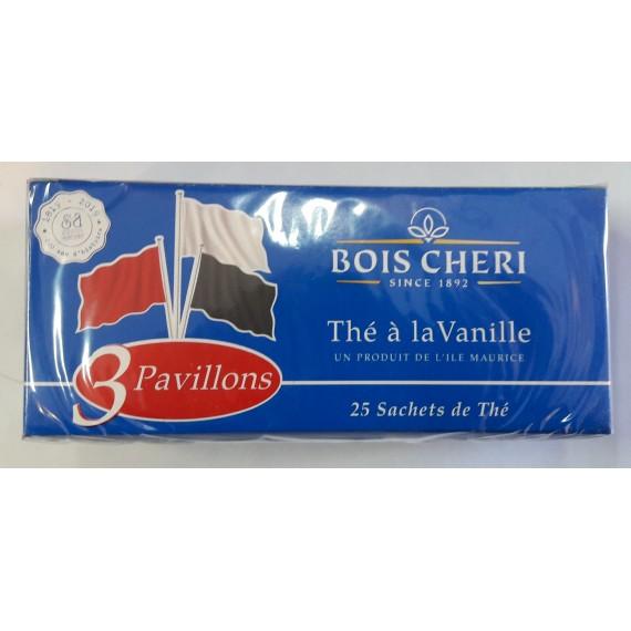 Thé noir Vanille 3 pavillons - BOIS CHERI 50g