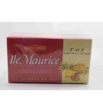 Thé Fruits Exotiques île Maurice - 25 sachets x 2g - Bois Chéri 50g