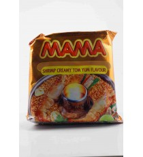 Nouille instantanée saveur TOMYUM crémeux aux crevettes - MAMA 90g