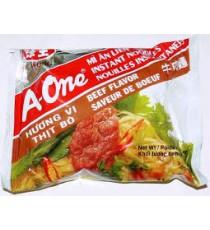 Nouille instantanée A-One saveur Boeuf - VE WONG 85g