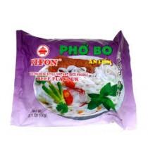 Vermicelle de riz instantanée PHO BO saveur Boeuf - VIIFON 60g