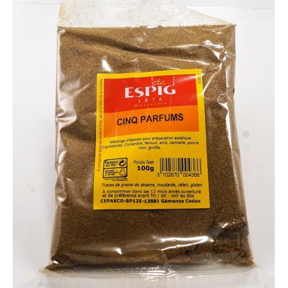 Cinq parfums moulue - ESPIG 100g
