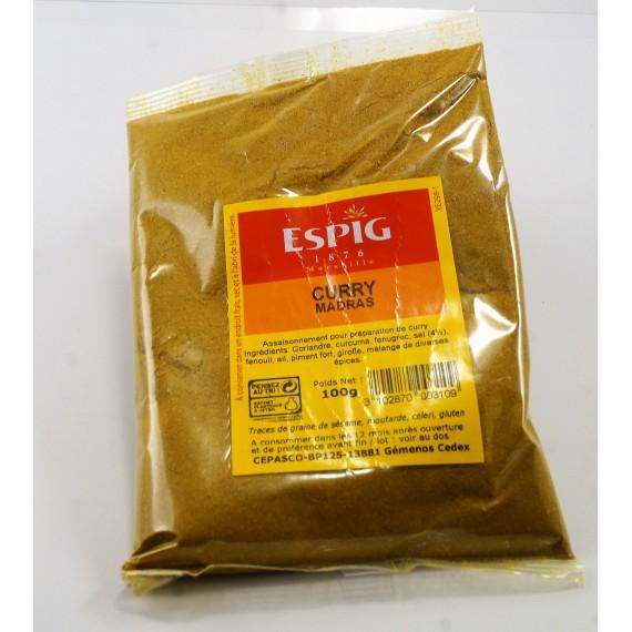 Curry Madras - ESPIG 100g
