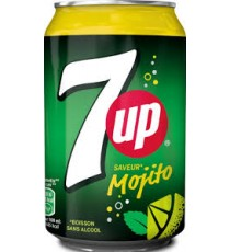 Boisson 7up Mojito 33cl
